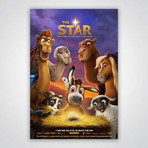 Plan a fun 4-week Advent Children's program based on Sony Pictures Animation film THE STAR.