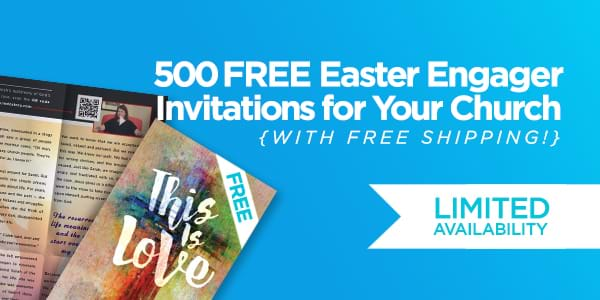Empower your members to invite others to your church this Easter with Free Engager Invitations!