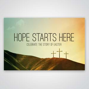 Church Invitation Tools: Use our free template to print your information on the back of these postcards