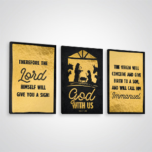 Church Wall Art and Décor: Inspiring canvas designs for church lobbies, classrooms & hallways.