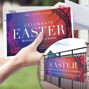 Church Postcards: People respond to invitations: invite every home in your community to church