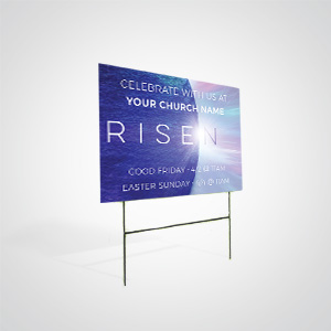 Church Banners and Signs: Promote your church around your community and neighborhoods