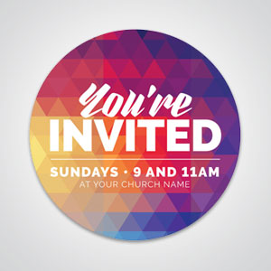 Church Invitation Tools: Browse hundreds of beautiful church invitation designs