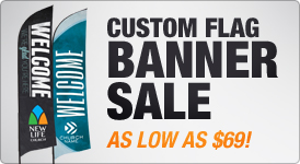 Custom Flag Banner Sale