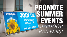 Outdoor Summer Banners