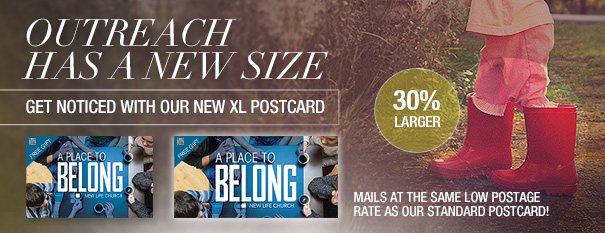 new Xlarge Postcards
