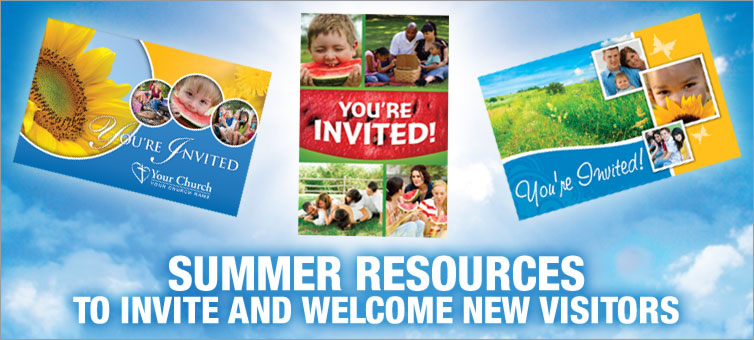 Summer Resources to Invite and Welcome New Visitors