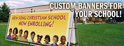 Custom Banners For Your School