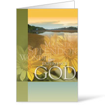 Experience God 8.5 x 14 Bulletins