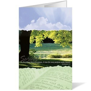 Seasons Spring 8.5 x 14 Bulletins