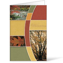 Fall Trees 8.5 x 14 Bulletins