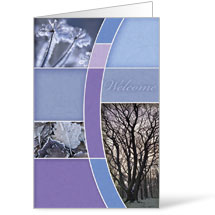 Winter Trees 8.5 x 14 Bulletins