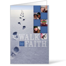 Footsteps Winter 8.5 x 14 Bulletins