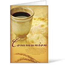 Occasions Communion 8.5 x 14 Bulletins