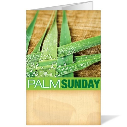 Bulletins, Nature, Palm Sunday 8.5 x 14, 8.5 x 14
