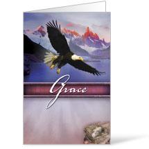 Beautiful Words Grace Bulletin