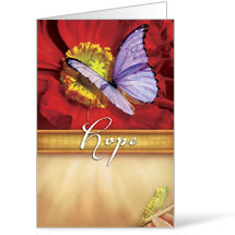 Beautiful Words Hope 8.5 x 14 Bulletins