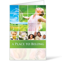 Belong Spring - 8.5 x 14 Bulletins