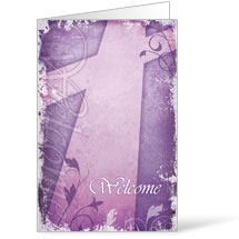 Vintage Purple Bulletins