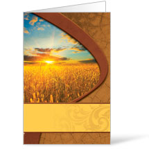 Sunrise Wheat - 8.5 x 14 Bulletins