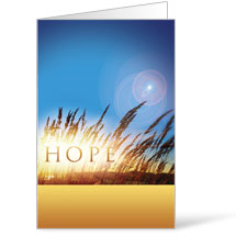 Hope for Tomorrow 8.5 x 14 Bulletins