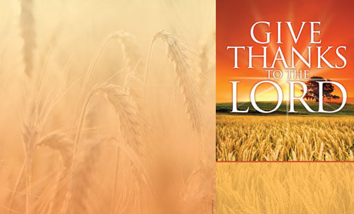 Bulletins, Fall - General, Give Thanks Lord - 8.5 x 14, 8.5 x 14
