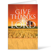 Give Thanks Lord Bulletin