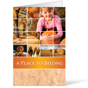 Belong Pumpkin  8.5 x 14 Bulletins