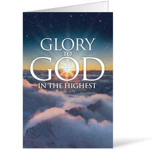 Glory To God  8.5 x 14 Bulletins
