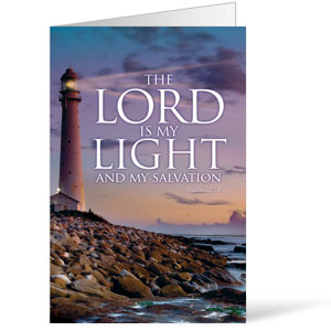 Lord Is My Light 8.5 x 14 Bulletins
