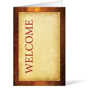 Verses Welcome 8.5 x 14