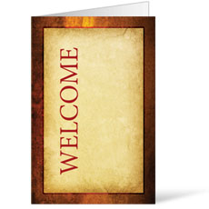 Verses Welcome Bulletin