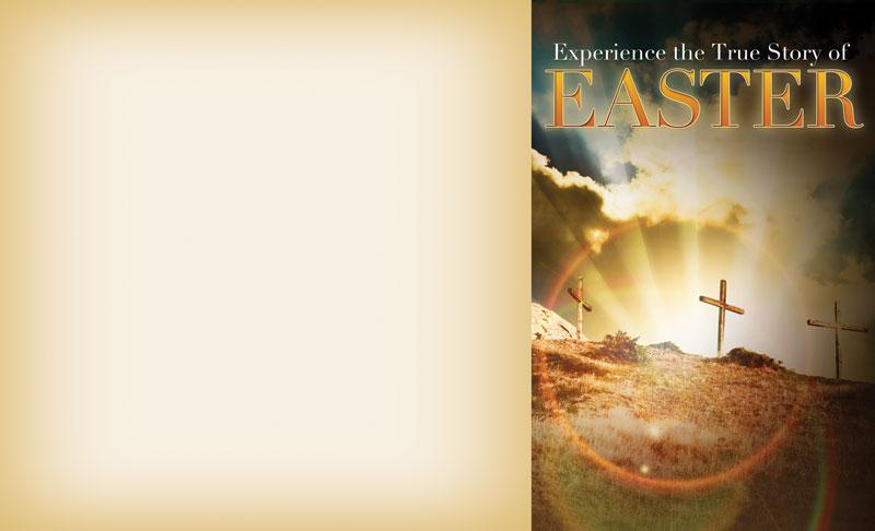 True Story Easter Bulletin Church Bulletins Outreach