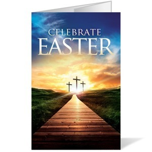 Easter Crosses Path  8.5 x 14