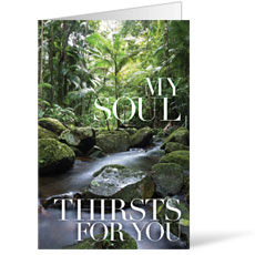 My Soul Thirsts Bulletin