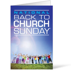 Back To Church Sunday Bulletin