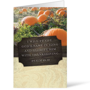 Fresh Air Pumpkin 8.5 x 14 Bulletins