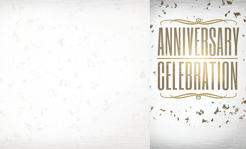 Anniversary Celebration Bulletin - Church Bulletins ...