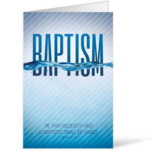 Baptism Blue Bulletins