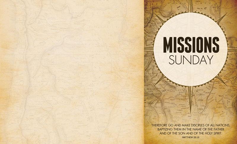 church bulletin   mission sunday map 8 5 x 14   outreach