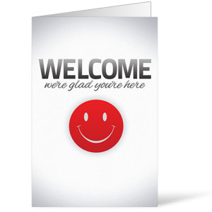 Pinstripe Welcome Bulletins