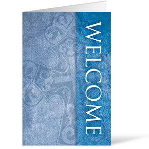 Cross Welcome 8.5 x 14 Bulletins