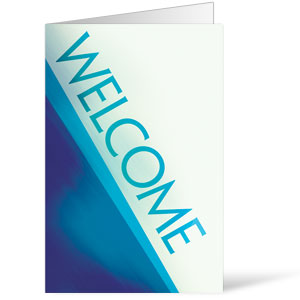 Color Rays Welcome 8.5 x 14 Bulletins