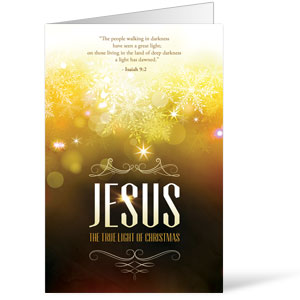 Jesus True Light Bulletins