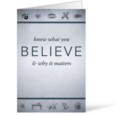 Believe Now Live the Story Bulletin