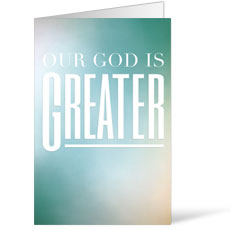 God is Greater Bulletin