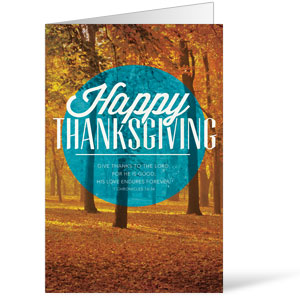 Thanksgiving Circle 8.5 x 14 Bulletins