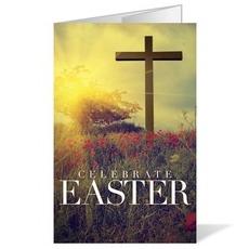 Celebrate Easter Cross Bulletin