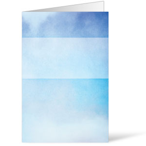 Watercolor Blue Bulletins