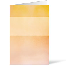 Watercolor Orange Bulletin